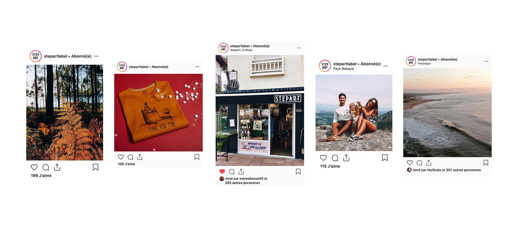 Jean Le Roy - Développeur web et consultant social medias à Biarritz - Stepart - Instagram