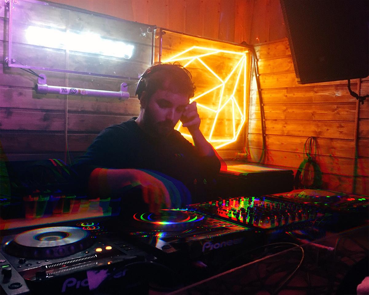 Jean Le Roy - DJ et podcast curator - ZBK à Concrete Paris
