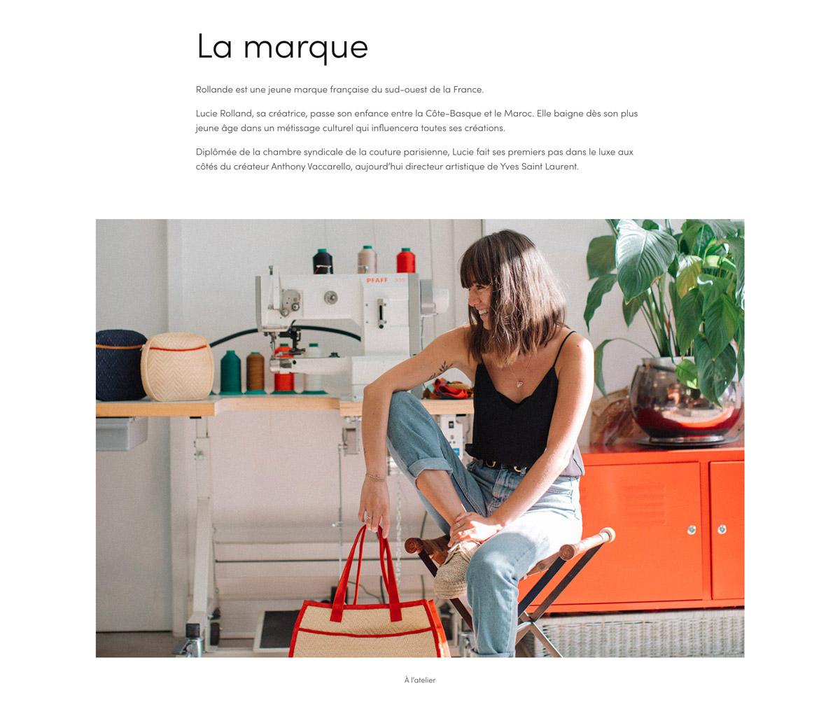 Jean Le Roy - Développeur web et consultant social medias à Biarritz - Rollande - E-commerce