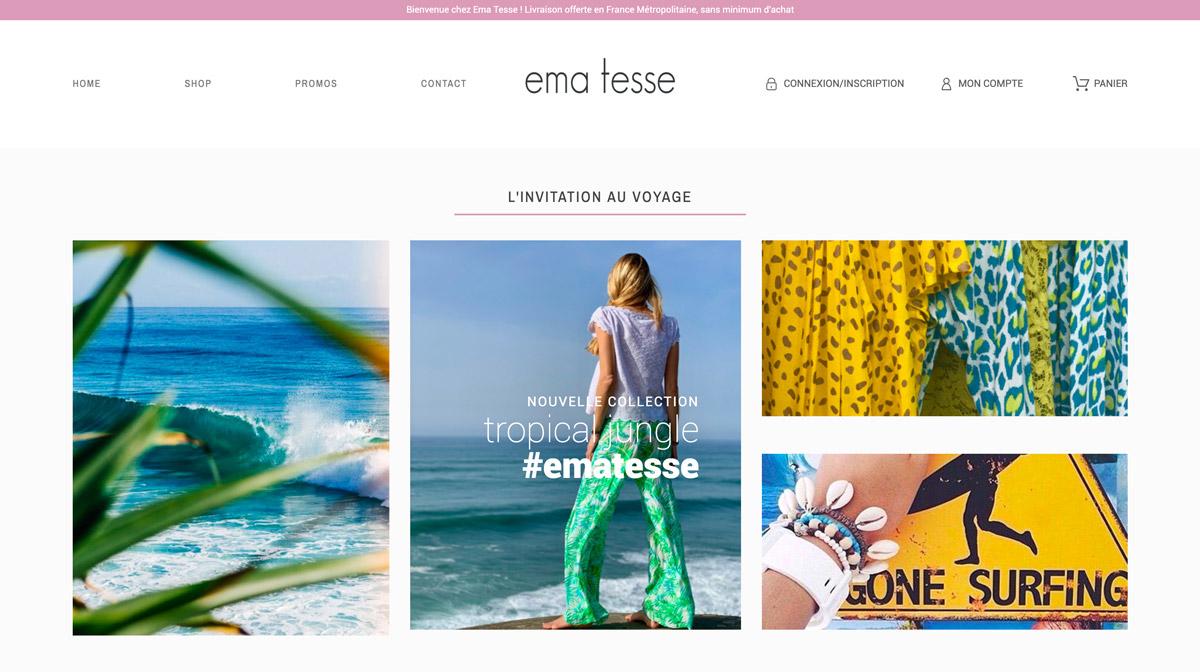 Jean Le Roy - Développeur web et consultant social medias à Biarritz - Ema Tesse - E-commerce