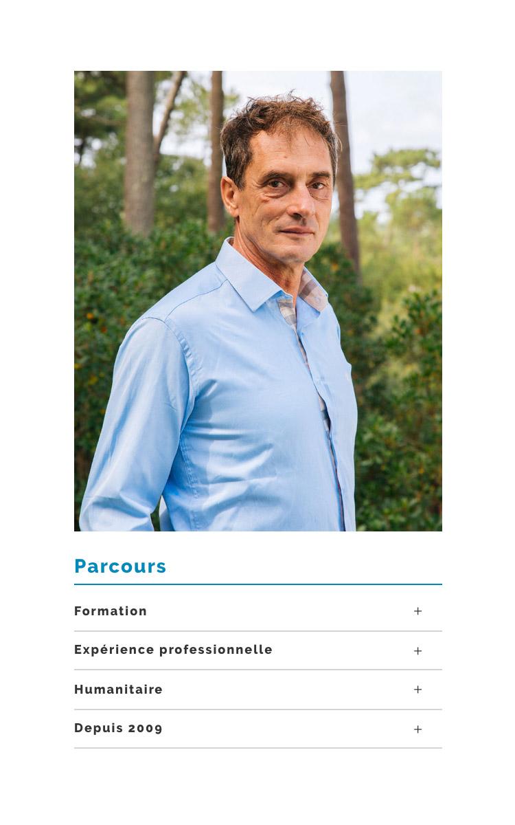 Jean Le Roy - Développeur web et consultant social medias à Biarritz - Hossegor Ostéopathie, Philippe Descacq