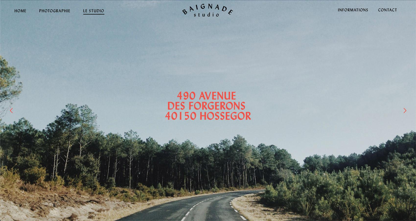 Jean Le Roy - Développeur web et consultant social medias à Biarritz - Baignade Studio - Portfolio