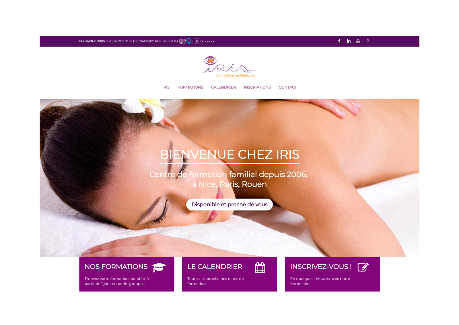 Jean Le Roy - Développeur web et consultant social medias à Biarritz - Iris Formations, calendrier et réservation en ligne