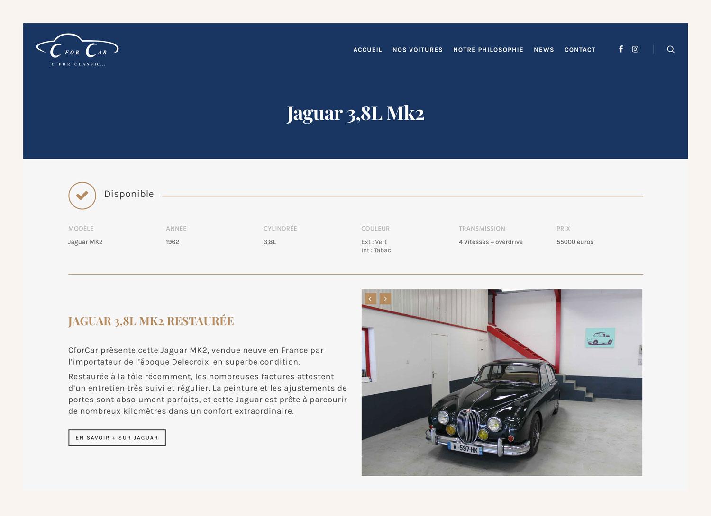 Jean Le Roy - Développeur web et consultant social medias à Biarritz - CforCar - Home page